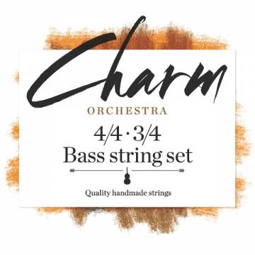 Charm Orchestra Bass String Set for 4/4 - 3/4