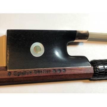 Egidius Doerfler 3-Star Master Violin Bow in GOLD Mounting