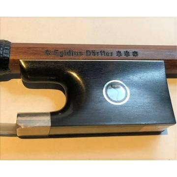 Egidius Doerfler 3-Star Master Violin Bow In Black Whalebone
