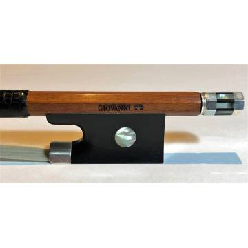 Giovanni** (2-Star) Pernambuco Violin Bow Round Stick 4/4