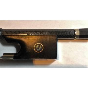 Giovanni Noir Carbon Composite Violin Bow 4/4