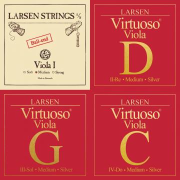 Larsen Virtuoso Viola String Set