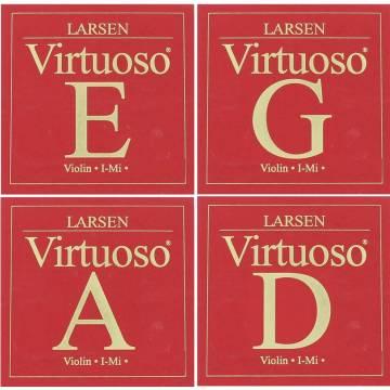 Larsen Virtuoso Violin String Set