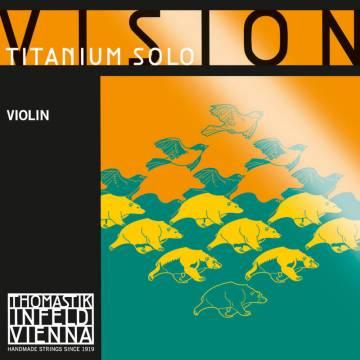 Vision Titanium Solo VIT100 Violin String Set