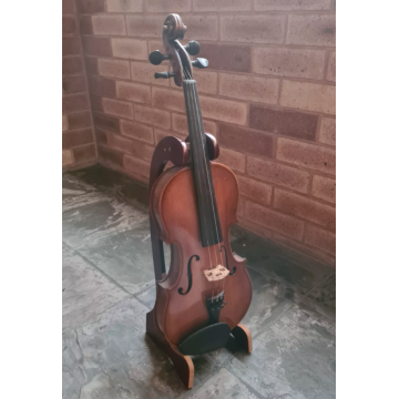 Beautiful Wooden Violin Stand